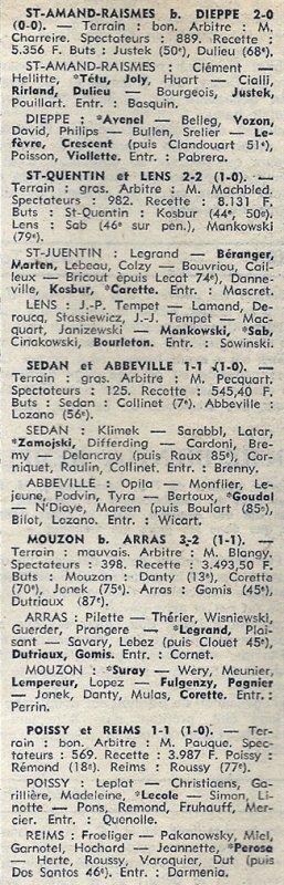 1973 D3 J06 POISSY REIMS 1-1, le 30/09/1973