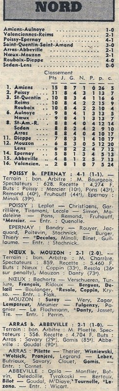 1973 D3 J08 VALENCIENNES REIMS 2-1, le 14/10/1973