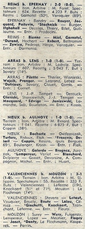 1973 D3 J10 EPERNAY REIMS 0-2, le 28/10/1973