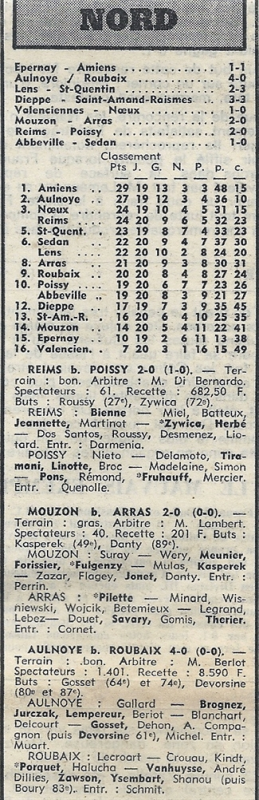 1973 D3 J20 REIMS POISSY 2-0, le 10/02/1974
