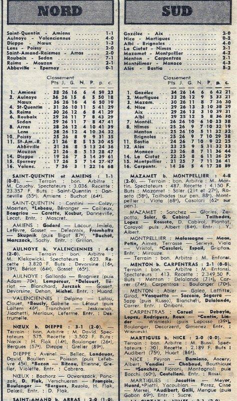 1973 D3 J26 REIMS MOUZON 2-1, le 07/04/1974