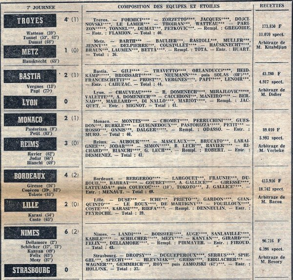 1974 D1 J07 MONACO REIMS 2-3, le 02/09/1974