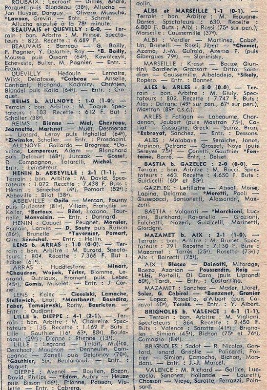 1974 D3 J02 REIMS AULNOYE 1-0, le 08/09/1974
