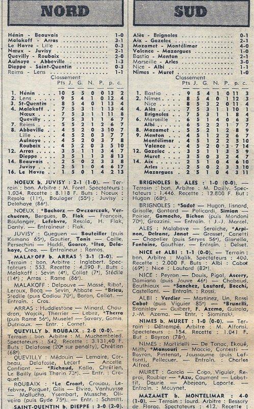1974 D3 J05 REIMS LENS 1-1, le 30/09/1974