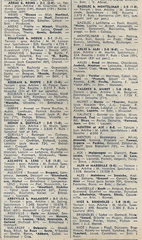 1974 D3 J08 REIMS ARRAS 1-2, le 20/10/1974