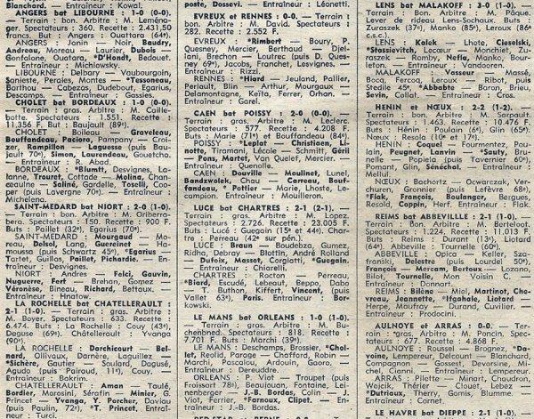 1974 D3 J14 ABBEVILLE REIMS 1-2, le 08/12/1974