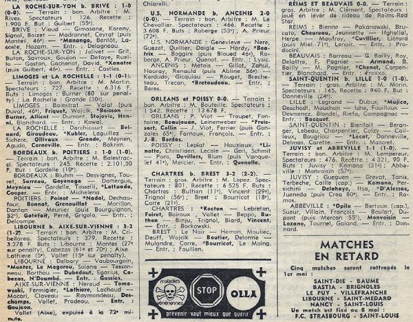 1974 D3 J26 REIMS BEAUVAIS 0-0, le 06/04/1975