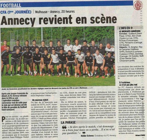 2016 CFA J01 REIMS MONTCEAU les MINES, l'avant match, le 13/08/2016