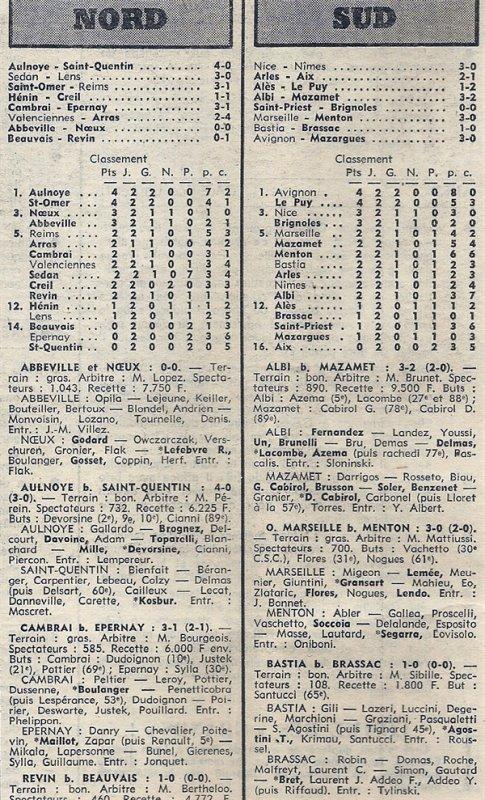 1975 D3 J02 SAINT-OMER REIMS 3-1, le 14/09/1975