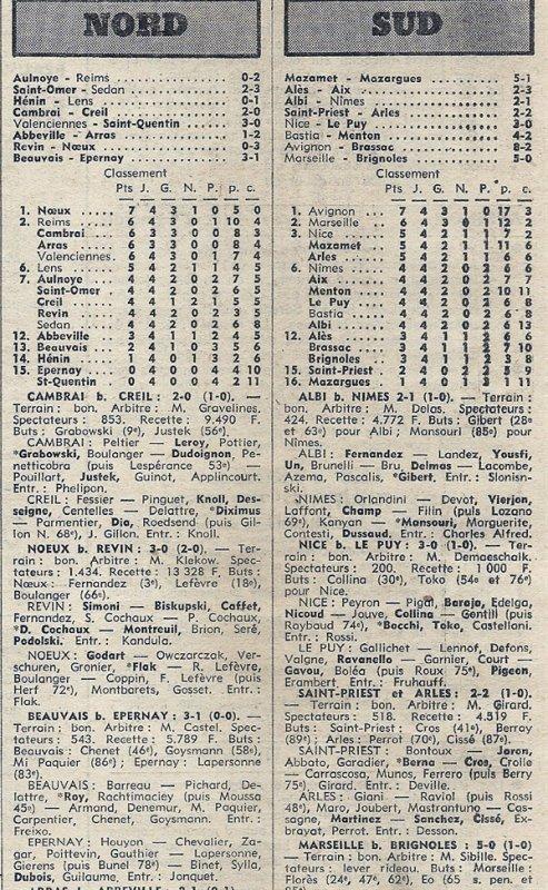 1975 D3 J04 AULNOYE REIMS 0-2, le 28/09/1975