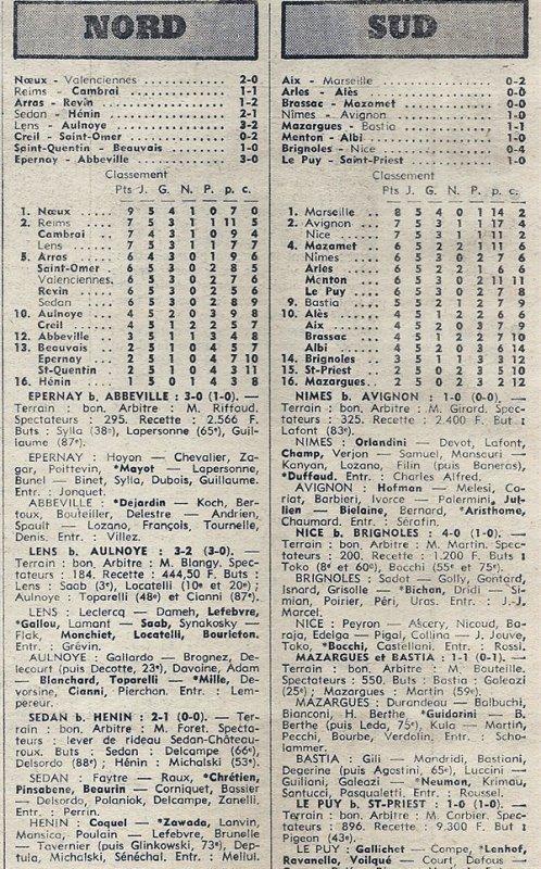 1975 D3 J05 REIMS CAMBRAI 1-1, le 05/10/1975