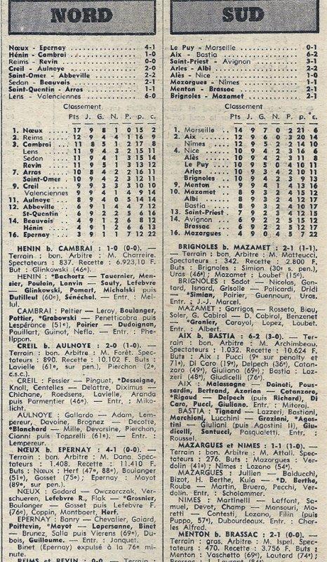 1975 D3 J09 REIMS REVIN 0-0, le 03/11/1975