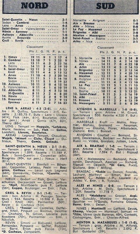 1975 D3 J11 REIMS BEAUVAIS 3-0, le 16/11/1975