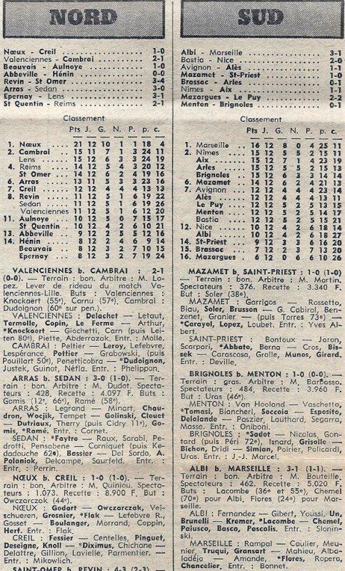 1975 D3 J12 SAINT-QUENTIN REIMS 2-1, le 23/11/1975