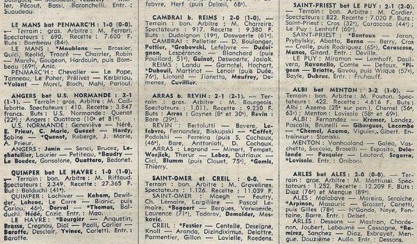 1975 D3 J19 CAMBRAI REIMS 2-0, le 24/02/1976