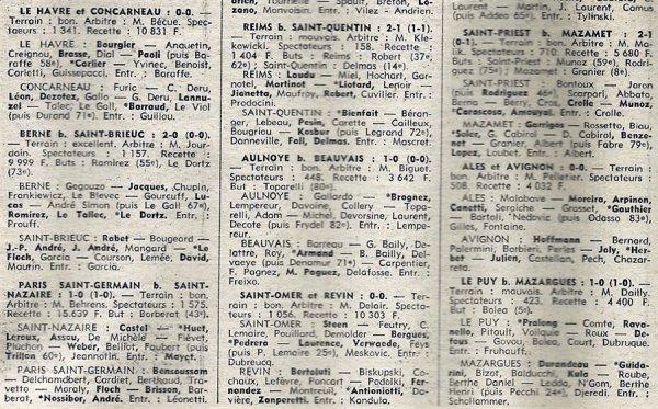 1975 D3 J26 REIMS SAINT QUENTIN 2-1, le 11/04/1976