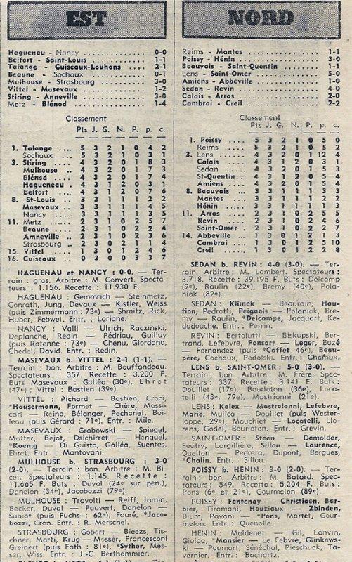 1976 D3 J03 REIMS MANTES la VILLE 1-1, le 12/09/1976