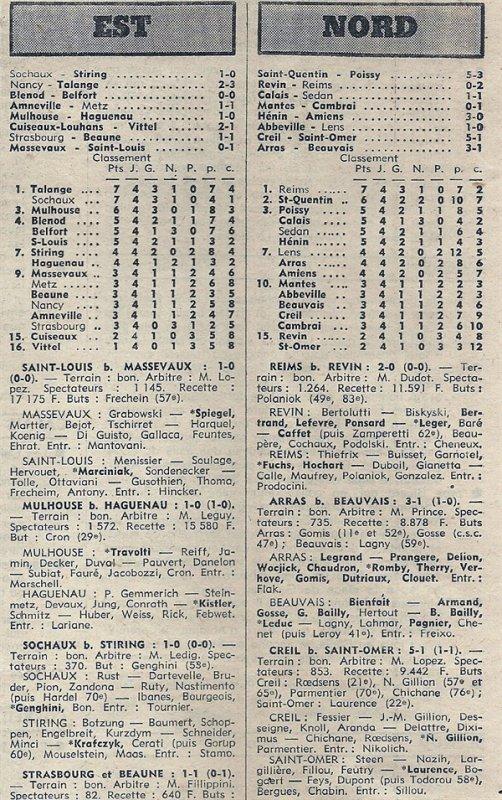 1976 D3 J04 REVIN REIMS 0-2, le 09/09/1976