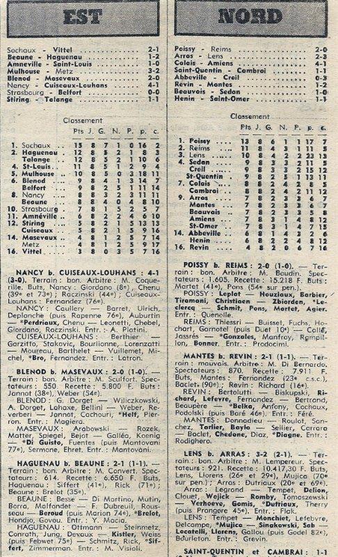1976 D3 J08 POISSY REIMS 2-0, le 17/10/1976
