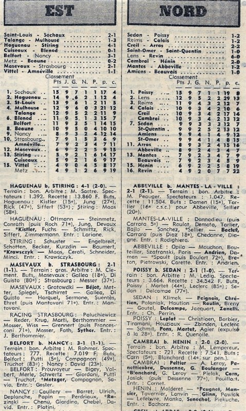 1976 D3 J09 REIMS CALAIS 1-2, le 24/10/1976