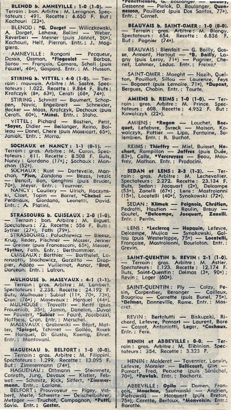 1976 D3 J12 AMIENS REIMS 1-0, le 14/11/1976