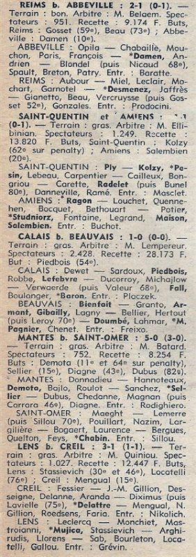 1976 D3 J19 ABBEVILLE REIMS 1-2, le 06/02/1977