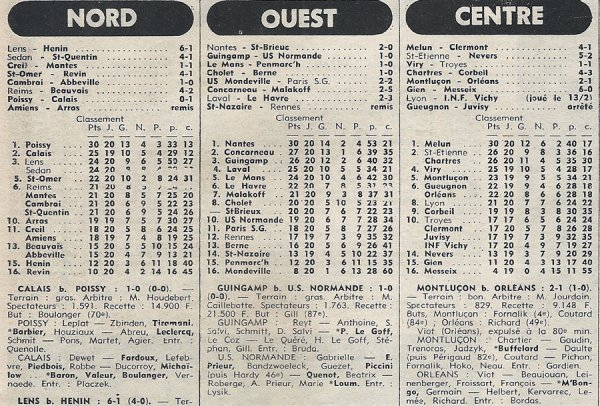 1976 D3 J20 REIMS BEAUVAIS 4-2, le 20/02/1977