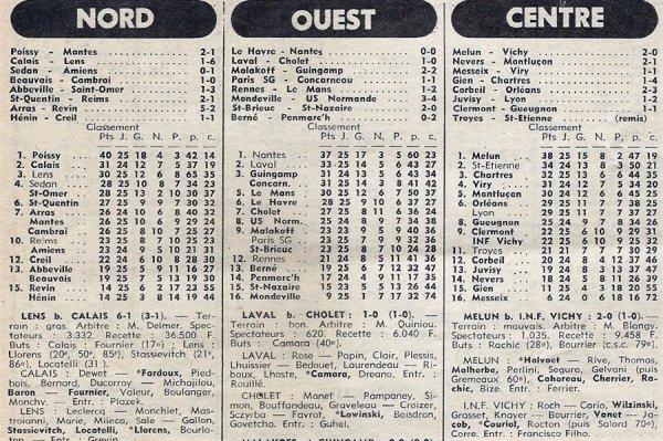 1976 D3 J25 SAINT-QUENTIN REIMS 2-1, le 27/03/1977