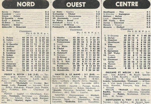 1976 D3 J30 SAINT-OMER REIMS 1-1, le 15/05/1977