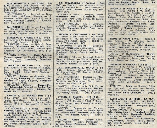 1973 D3 J13 REIMS ARRAS 1-1,le 18/11/1973