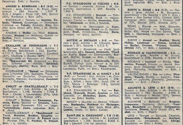 1973 D3 J16 REIMS DIEPPE 3-4, le 23/12/1973