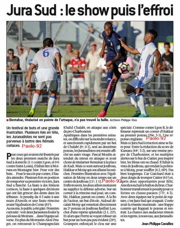 2016 CFA J04 JURA SUD REIMS 4-4, le 02/09/2016