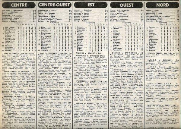 1977 D3 J05 POLICE REIMS 0-2, le 18/09/1977