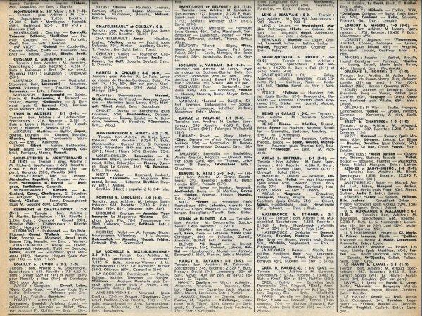 1977 D3 J10 REIMS CALAIS 0-0, le 23/10/1977