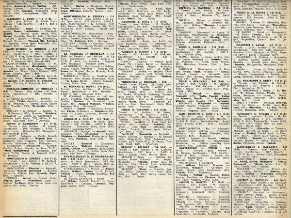 1977 D3 J23 REIMS PSG 1-0, le 19/03/1978