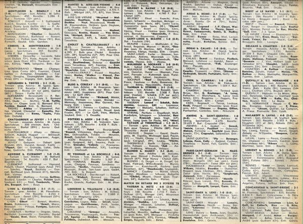 1977 D3 J26 ARRAS REIMS 2-1, le 16/04/1977