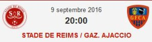 2016 Ligue 2 J06 REIMS GAZELEC , l'avant match, le 08/09/2016