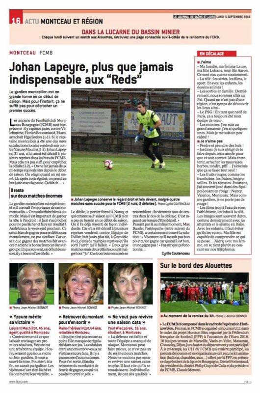 2016 CFA J05 ANDREZIEUX MONTCEAU 1-2, le 09/09/2016