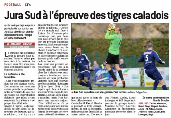 2016 CFA05 VILLE FRANCHE JURA SUD 1-0, le 09/092016