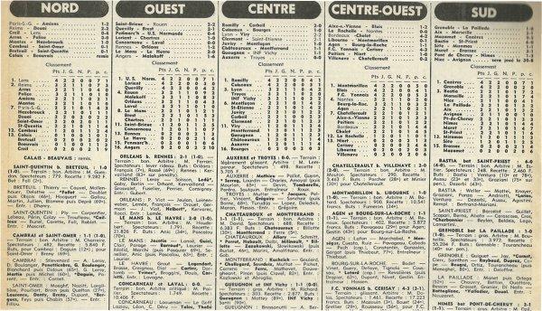 1977 D3 J02 REIMS DOUAI 2-2, le 28/08/1977