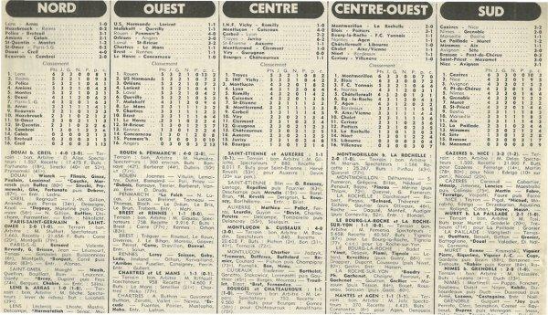 1977 D3 J03 HAZEBROUCK REIMS 0-2, le 04/09/1977