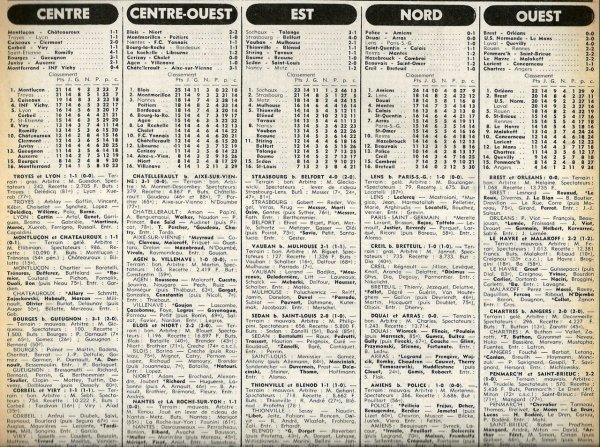 1977 D3 J14 REIMS MANTES la VILLE 1-2, le 04/12/1977