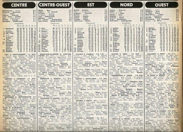 1977 D3 J15 CAMBRAI REIMS 1-1, le 11/12/1977