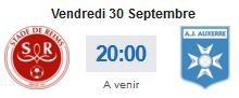 2016 Ligue 2 J10 REIMS AUXERRE, l'avant match, le 29/09/2016