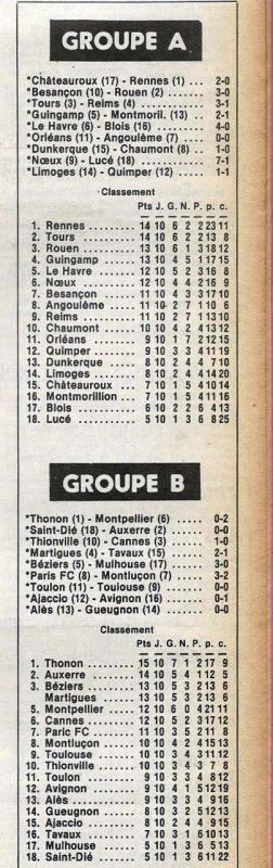 1979 D2A J10 TOURS REIMS 3-1, le 13/10/1979