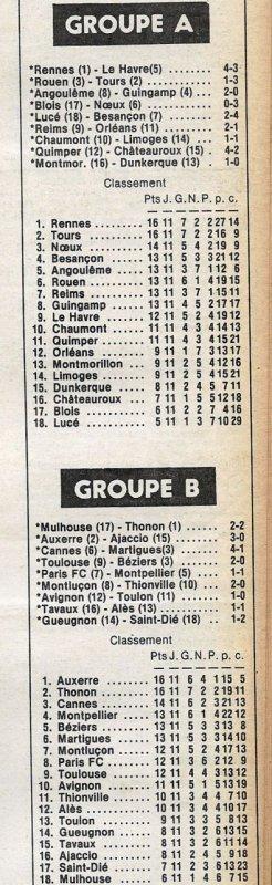 1979 D2A J11 REIMS ORLEANS 2-1, le 20/10/1979