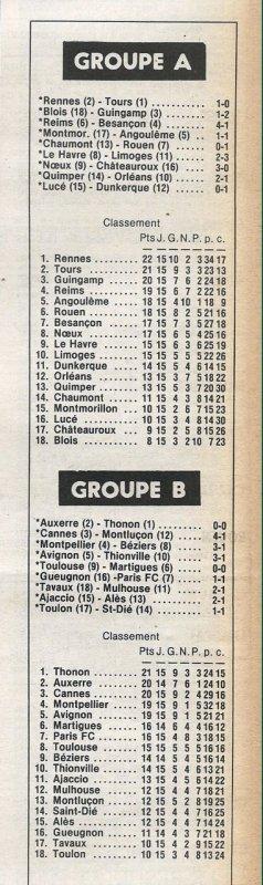 1979 D2A J15 REIMS BESANCON 4-1, le 09/11/1979