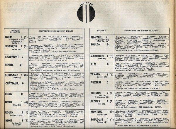 1979 D2A J18 REIMS NOEUX les MINES 0-1, le 01/12/1979