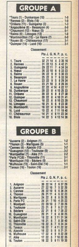 1979 D2A J22 REIMS LIMOGES 1-0,le 26/01/1980