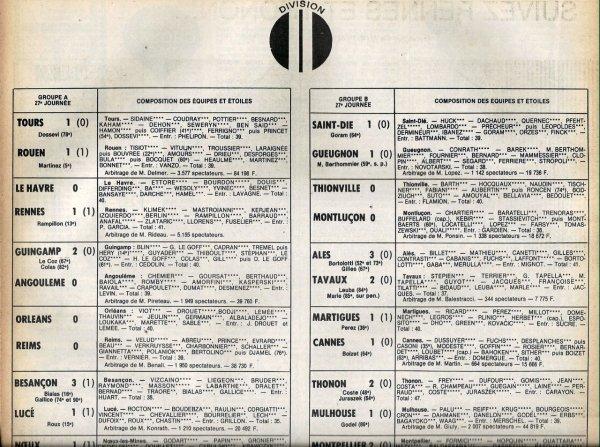 1979 D2A J27 ORLEANS REIMS 0-0, le 22/03/1980
